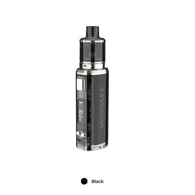 Black WISMEC SINUOUS V80 80W TC Kit