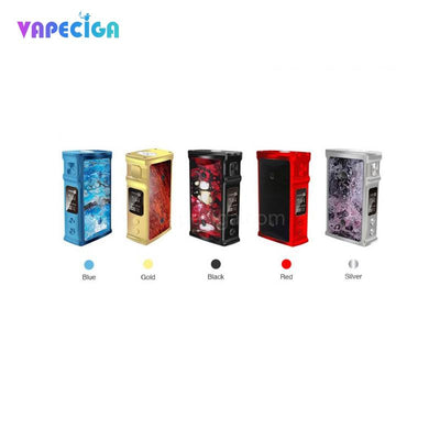 Blue/ Gold/ Black / Red / Silver Blitz M1911 TC Box Mod