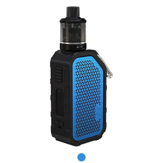 Blue WISMEC Active Bluetooth Music TC Kit with Amor NSE 2100mAh