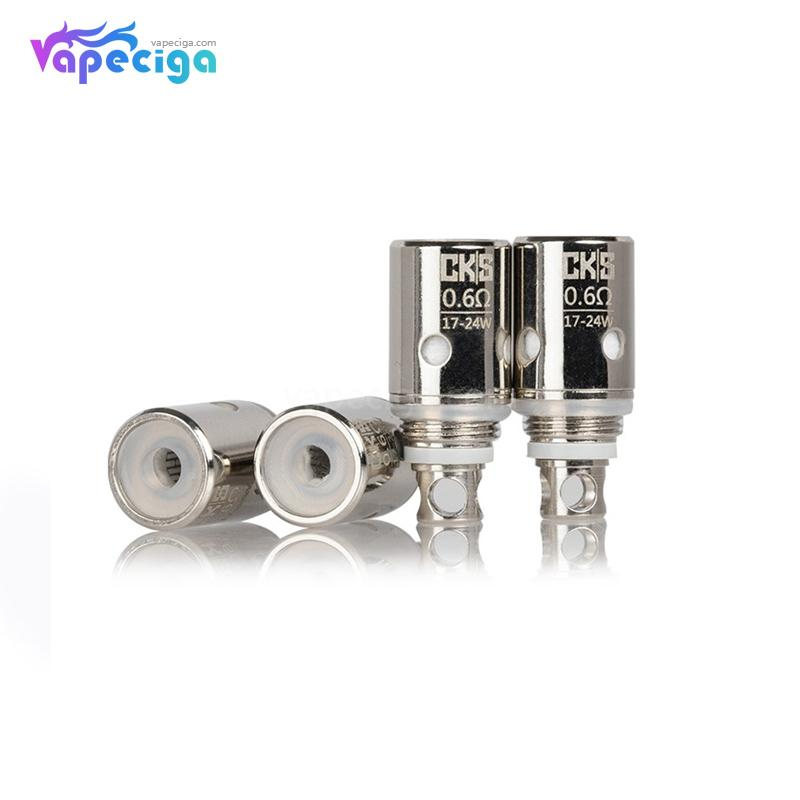CKS Junior Replacement Coil Head 0.6ohm / 1.0ohm 4PCs