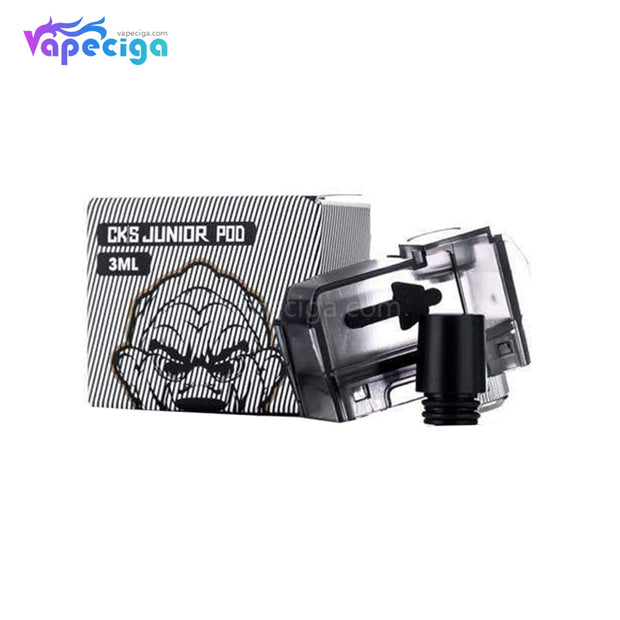 CKS Junior Replacement Pod Cartridge with Coil 0.6ohm /  1.0ohm 3ml
