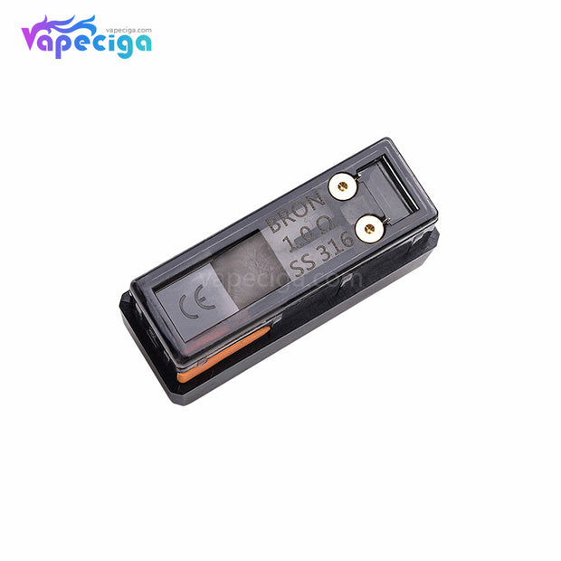 CoilART Bron Replacement Pod Cartridge without Drip Tip 1.0ohm
