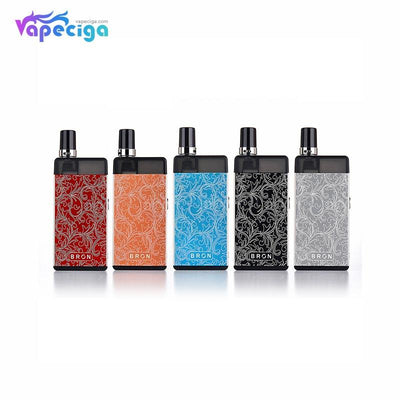 5 CoilART Bron Vape Pod System Colors Choose