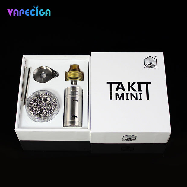Cool Vapor Takit Mini Mechanical Mod Kit Package Contents