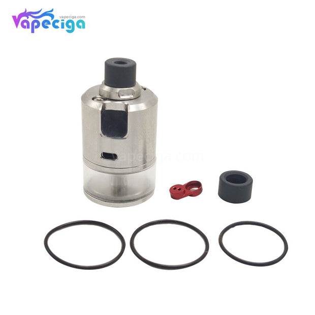 Coppervape BF 99 Cube Style MTL RDTA 316SS 2.5ml 22mm PC Edition Contents