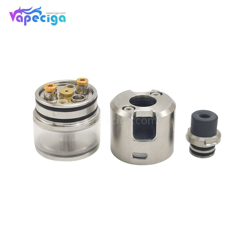 Coppervape BF 99 Cube Style MTL RDTA 316SS 2.5ml 22mm PC / PEI Edition