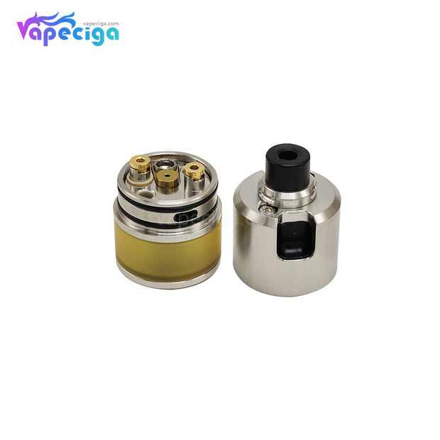 Coppervape BF 99 Cube Style MTL RDTA 316SS 2.5ml 22mm PEI Edition Components