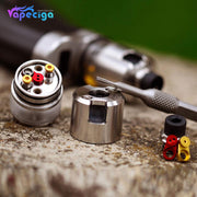 Coppervape BF 99 Cube Style MTL RDTA 316SS 2.5ml 22mm PC Edition Real Shots