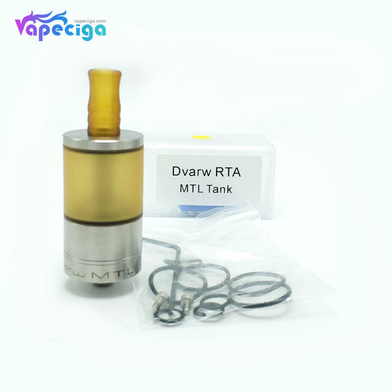 Coppervape Dvarw Style MTL RTA 5ml 22mm