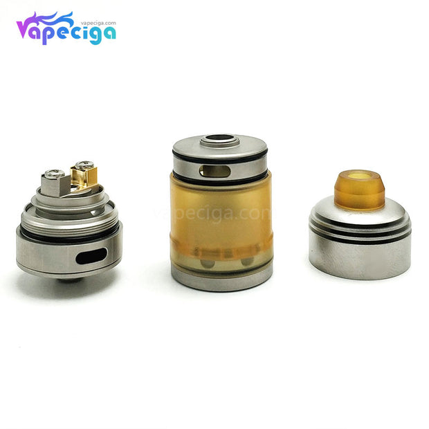 Coppervape Hussar Style RTA 2.5ml 22mm Components