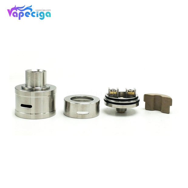 Coppervape Royal Atty DB Style RDA 22mm Exploded View