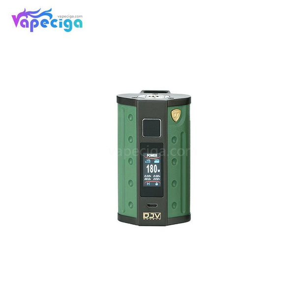 DEJAVU DJV D7 TC Box Mod with Touch Screen 180W Army Green