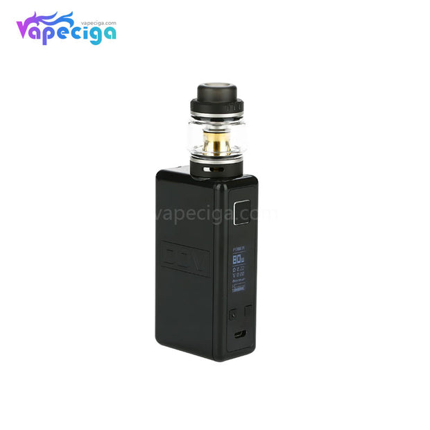DEJAVU DJV Neon TC Box Mod Kit 80W 4.5ml Black