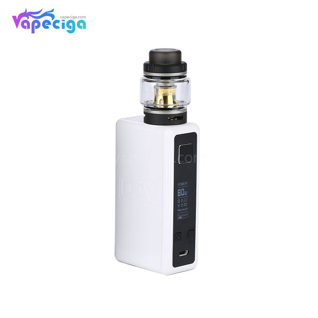 DEJAVU Neon TC Box Mod Kit 80W 4.5ml White