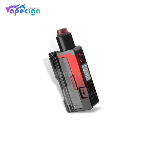 Dovpo Topside Lite TC Squonk Mod Kit Real Shots with Variant RDA 90W 10ml