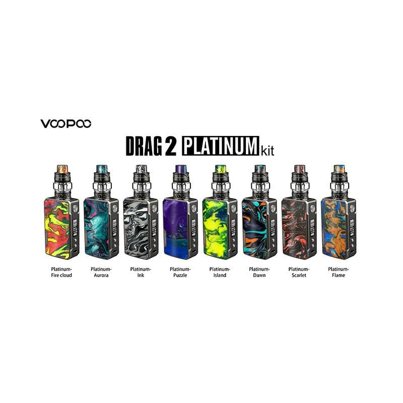 VOOPOO Drag 2 Platinum 177W TC Mod Kit with UFORCE T2 Tank