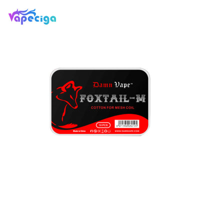 Damn Vape FoxTail-M Vape Wicking Cotton 10PCs