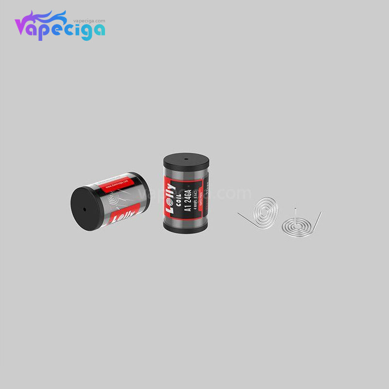 Damn Vape Lolly Coil KA1 24GA 4 Wraps 0.64ohm 10PCs