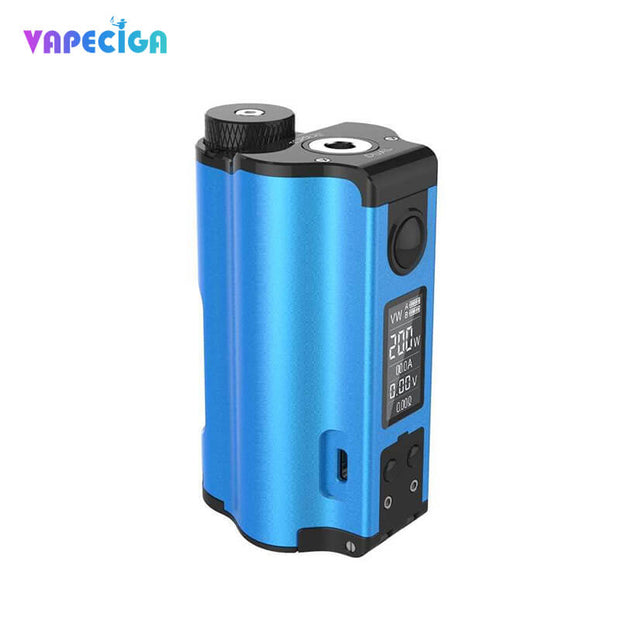 Dovpo Topside Dual Top Fill 200W Squonk Mod Blue