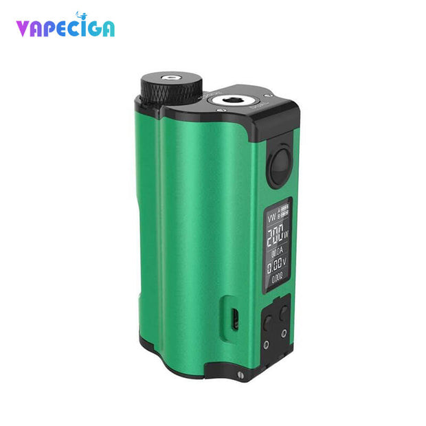 Dovpo Topside Dual Top Fill 200W Squonk Mod Green