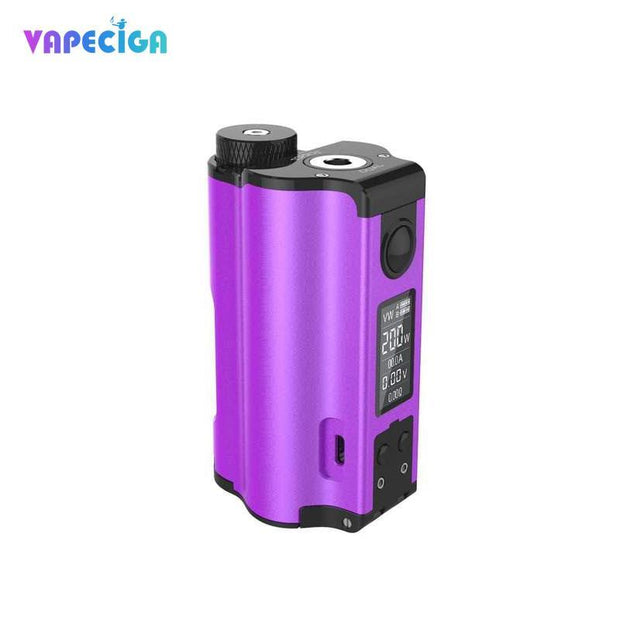 Dovpo Topside Dual Top Fill 200W Squonk Mod Purple