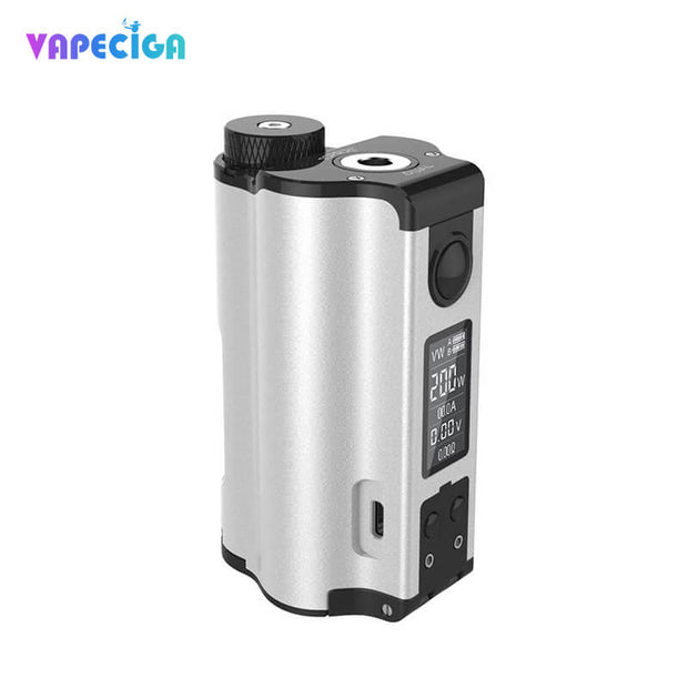 Dovpo Topside Dual Top Fill 200W Squonk Mod Silver