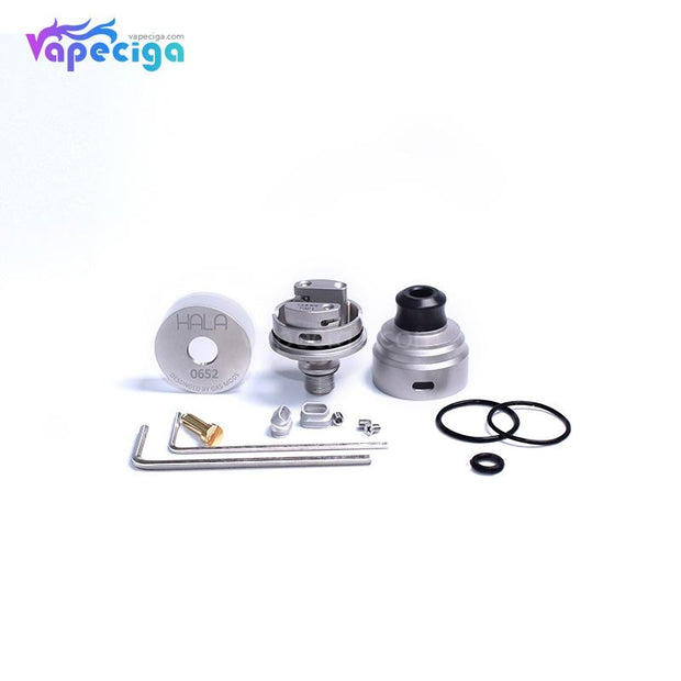 GAS MODS Hala RDTA 2ml Package Includes