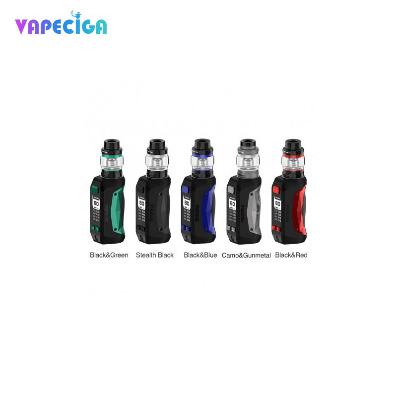Geekvape Aegis Mini TC Mod Kit with Cerberus Tank 2200mAh 80W 5.5ml / 2ml