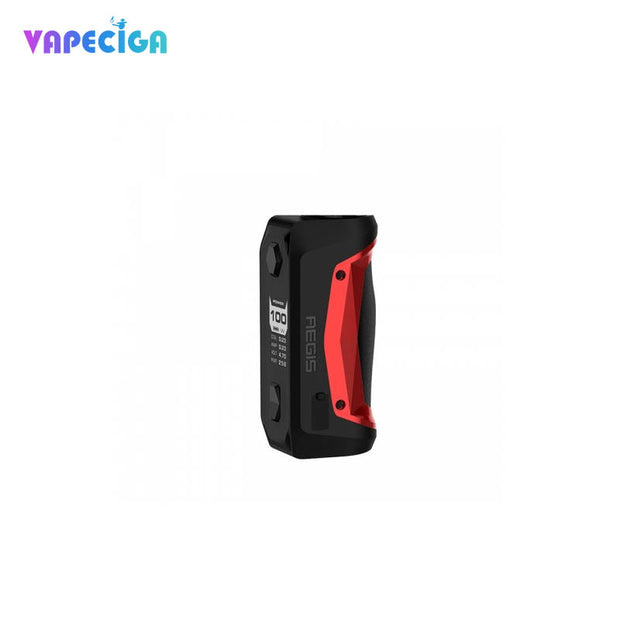 Red Geekvape Aegis Solo TC Box MOD 100W