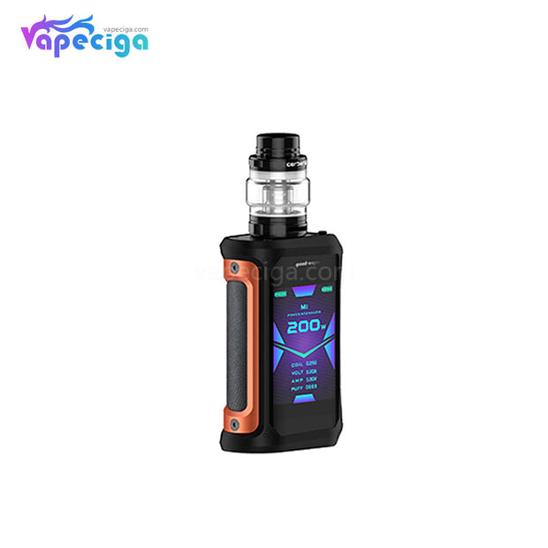 Orange Geekvape Aegis X TC Mod Kit with Cerberus Sub-Ohm Tank