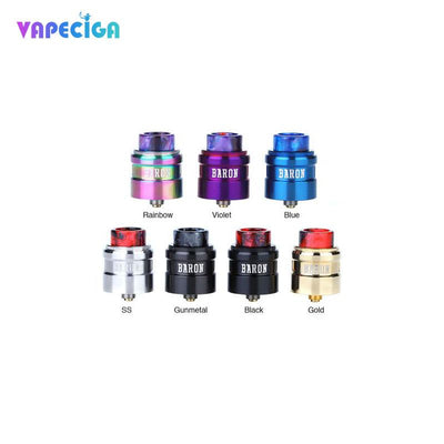 Geekvape Baron BF RDA 7 Colors Available