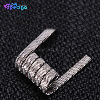 Goforvape Ni80 Pre-built 4-core Fused Clapton Coil 0.2ohm 5 Wraps 10PCs