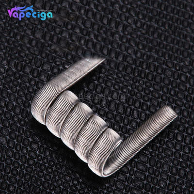 Goforvape Ni80 Pre-built Staple Staggered Fused Clapton 0.2ohm 5 Wraps 10PCs