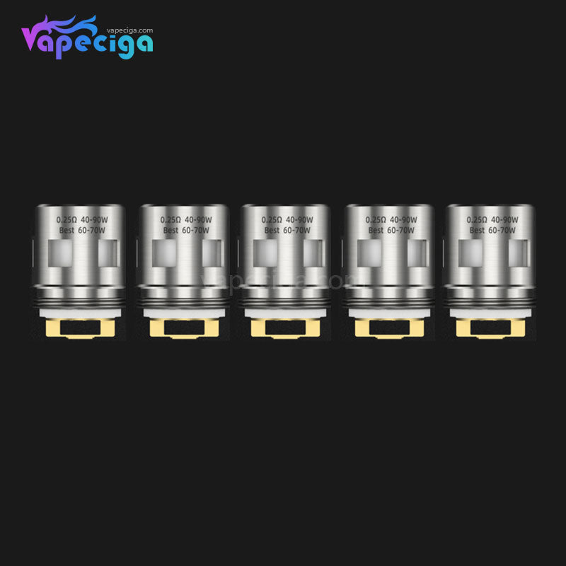 Goforvape Replacement EX1 / EX2 Clapugatted Coil Head for Emperor Sub-ohm Tank / Satisfy Pod System 5PCs