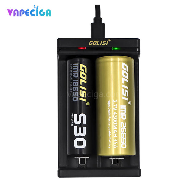 Golisi Needle 2 Smart USB Charger 2 Different Batteries
