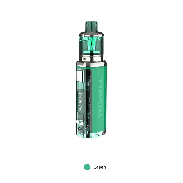 Green WISMEC SINUOUS V80 80W TC Kit