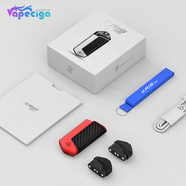 HCIGAR KRIS Pod System Starter Kit Includes