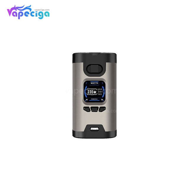 HCIGAR Wildwolf TC Box Mod 235W Silver Black
