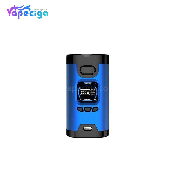 HCIGAR Wildwolf TC Box Mod 235W Blue