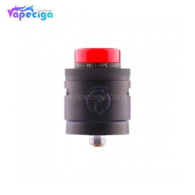Hellvape Passage BF RDA Dual Coil Deck 24mm Matte Full Black