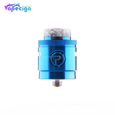 Hellvape Passage BF RDA Dual Coil Deck 24mm Blue