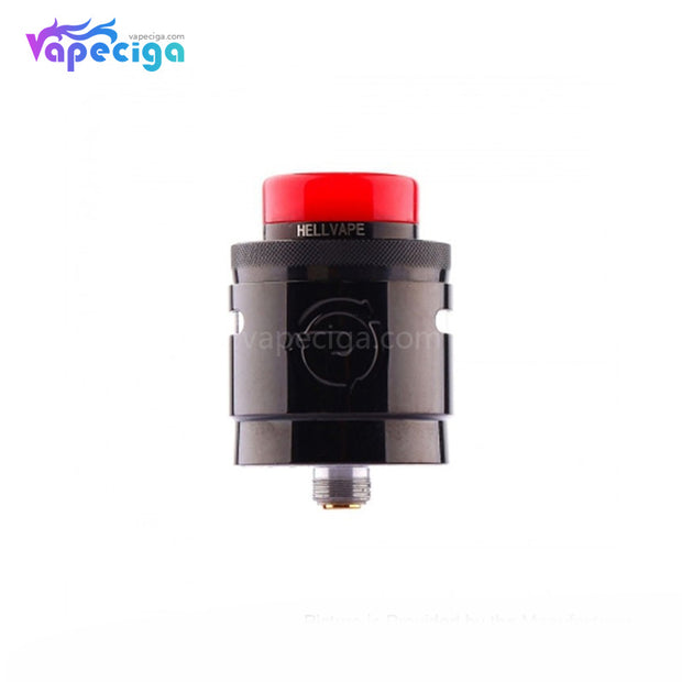 Hellvape Passage BF RDA Dual Coil Deck 24mm Piano Full Black