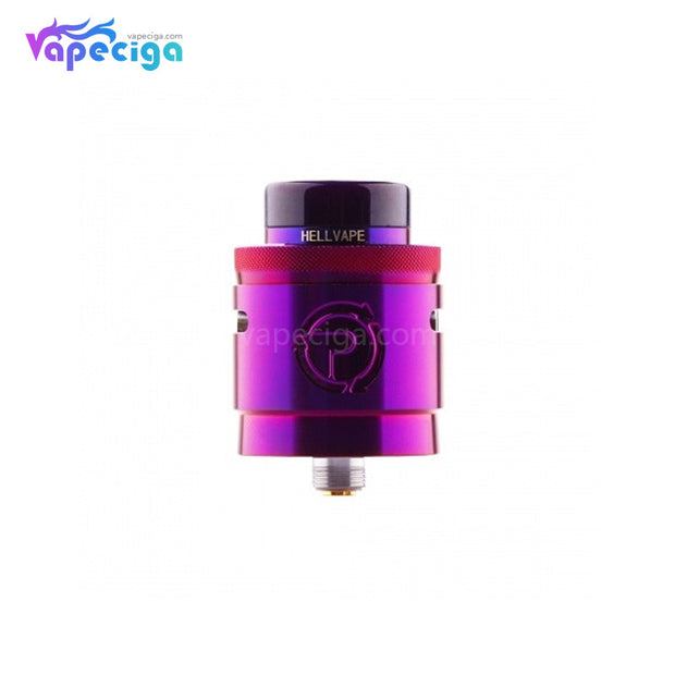 Hellvape Passage BF RDA Dual Coil Deck 24mm Purple