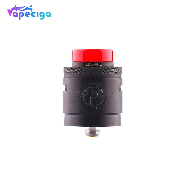 Hellvape Passage RDA 24mm Matte Full Black