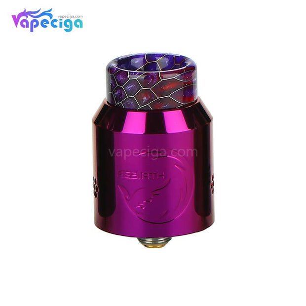 Hellvape Rebirth RDA Purple
