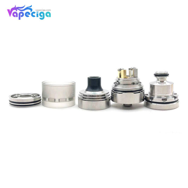 Hussar Vapes V1.5 Style RTA 2ml 22mm Components
