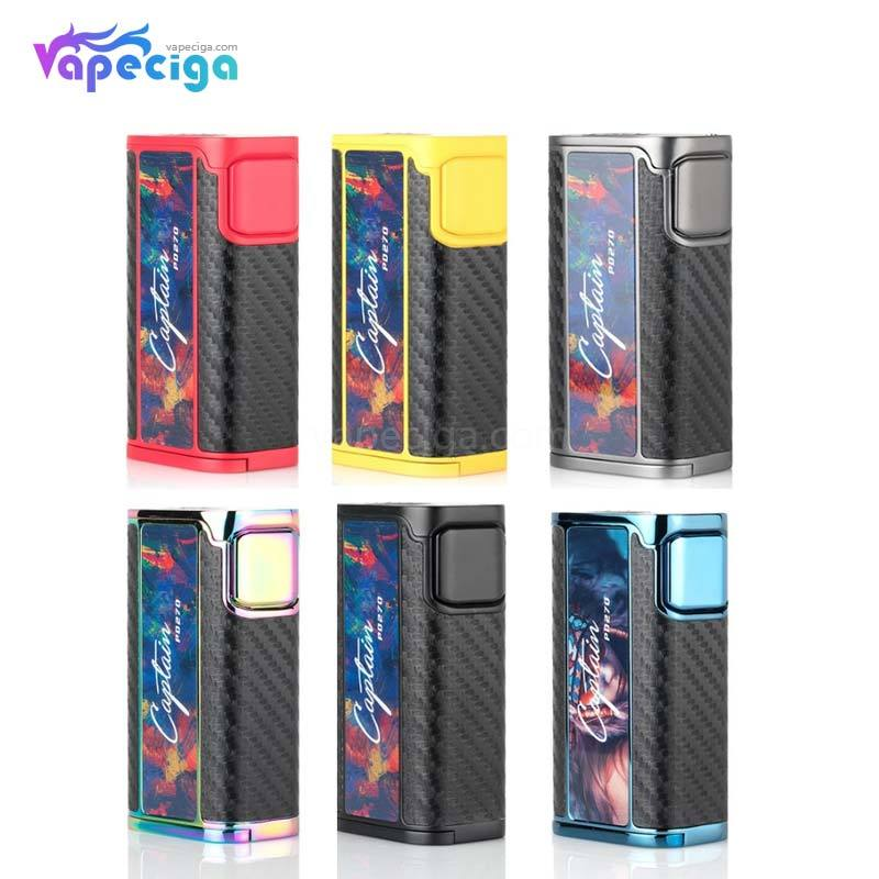 IJOY Captain PD270 TC Box Mod 234W without Battery