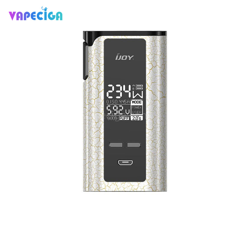 IJOY Captain PD270 TC Box Mod 234W without Battery New Color Edition