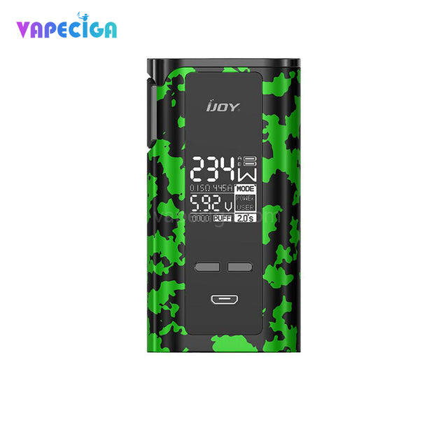 IJOY Captain PD270 TC Mod 234W Green With Black Camouflage