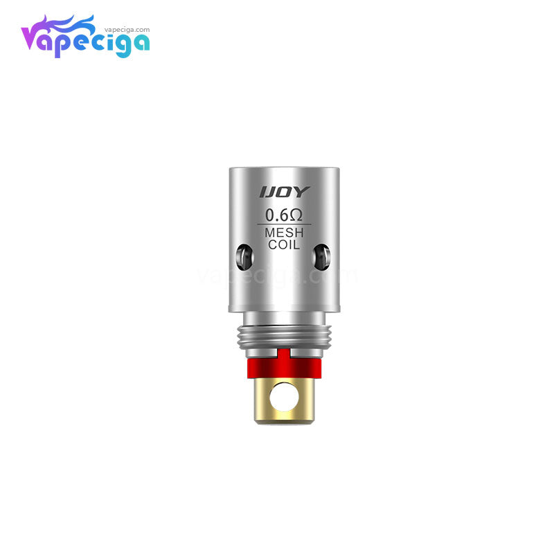 IJOY Saturn Replacement 0.6ohm / 1.0ohm Mesh Coil Head 5PCs